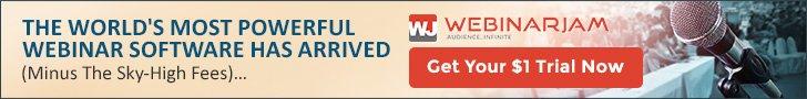 WebinarJam Get your FREE trial now